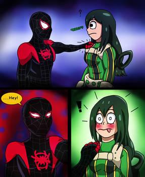 Marvel x MHA - ...Hey!