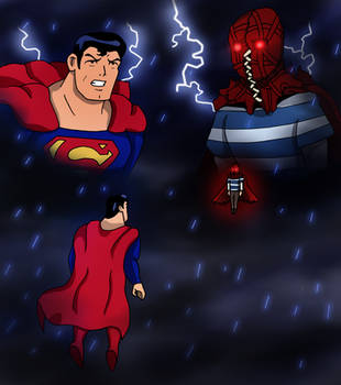 Superman vs. Brightburn by edCOM02