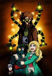 Spider-Deku: The Sorrow of Doctor Octopus by edCOM02