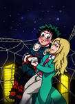 Spider-Deku x Melissa Shield - Starry Night by edCOM02