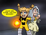Marvel x MHA - Katie Protects Eri by edCOM02