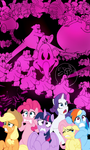 Pink Elephants On Parade (Colored)