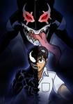 Venom/Evangelion - Knock, Knock! Let the Devil In!
