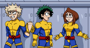 MHA/X-Men - Dressed for the Part