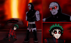 MHA/Justice League - All for Darkseid
