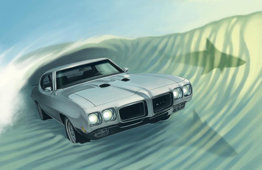 1970 GTO by OzyOxy