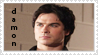 Damon stamp by Clare-Sparda