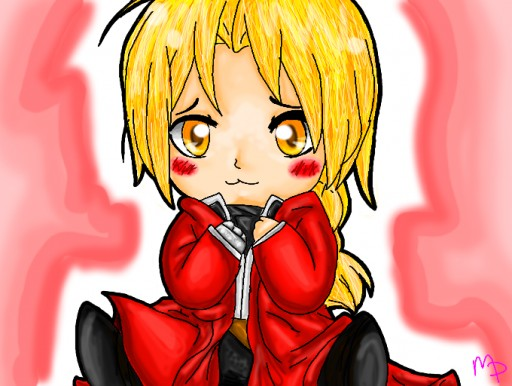 Edward Elric by Moonpaw17