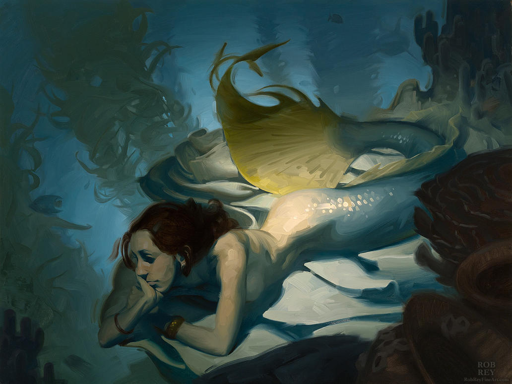 Untitled Mermaid by robrey