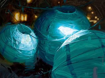 Bioluminescence IV by robrey