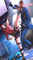 [SFM] Karate Kick by Mark-Unread