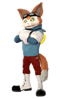 I Just Smile - Blinx The Time Sweeper by Mark-Unread
