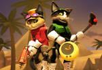 Blinx 2 MOTAS: Tundra and Keiko