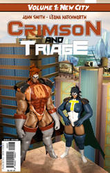Crimson and Triage issue cover