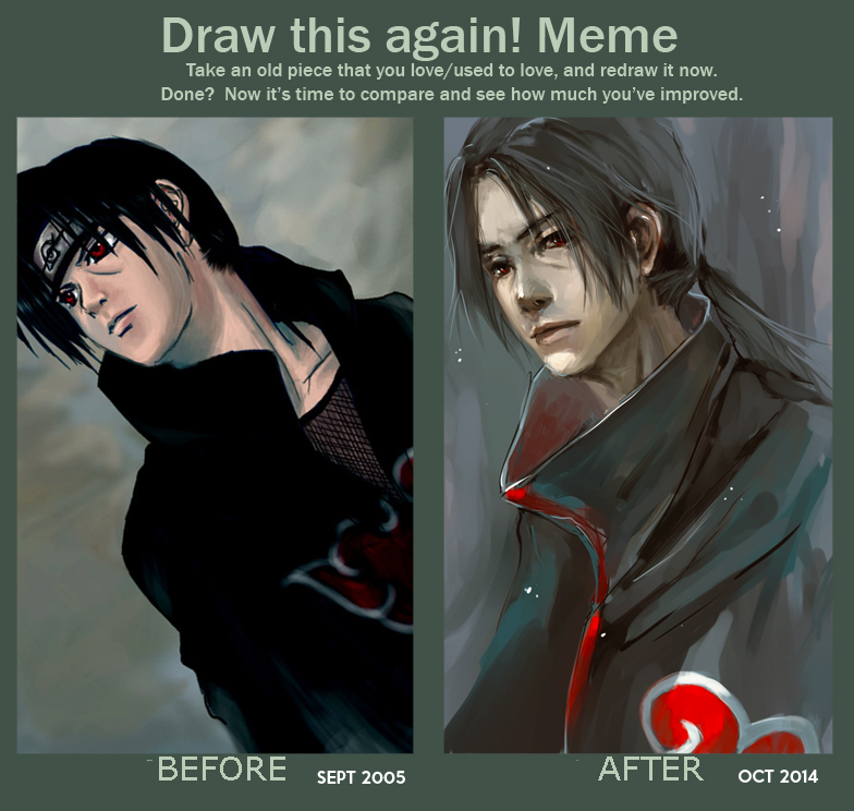 Draw This Again Meme 2005-2014 by vitellan
