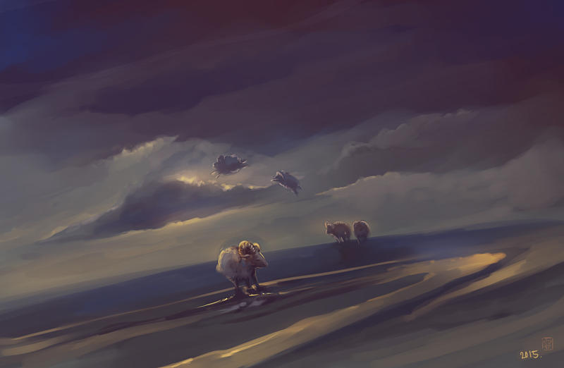 Time of the Sheep by vitellan