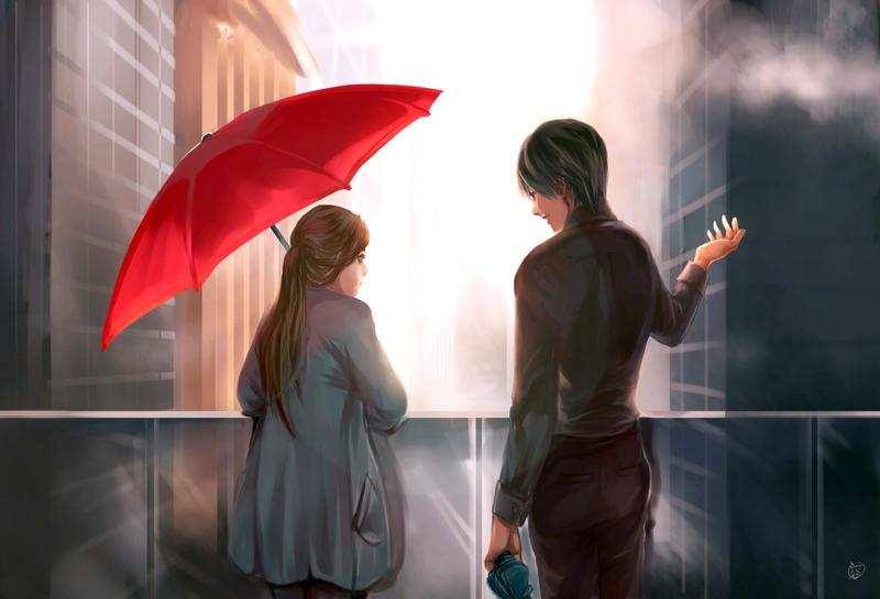 It Stopped Raining by vitellan