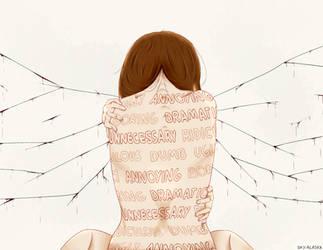Inner Bleeding Scars by Shylless