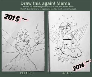 Draw This Again Meme 2 by Shylless