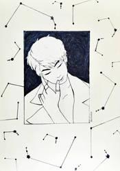 INKTOBER 2 - Aries Boy by Shylless