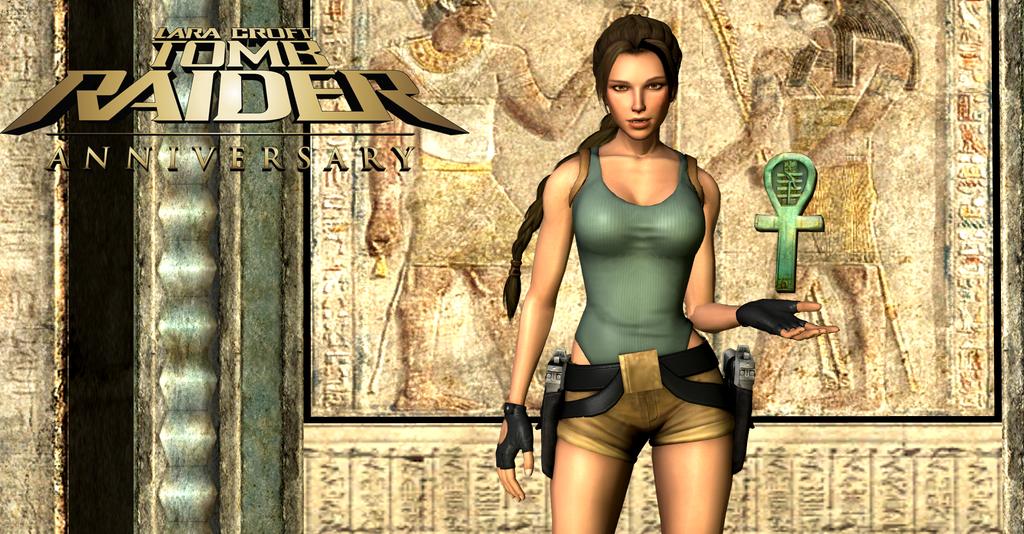 Tomb Raider Anniversary Wallpaper By XDLGx