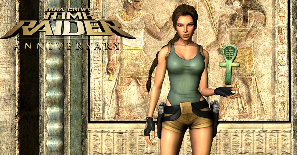 Tomb Raider Anniversary Wallpaper By Xdlgx On Deviantart