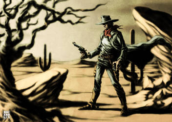 Gunslinger by BAI-XAU-LI