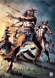 Indian War Z by BAI-XAU-LI