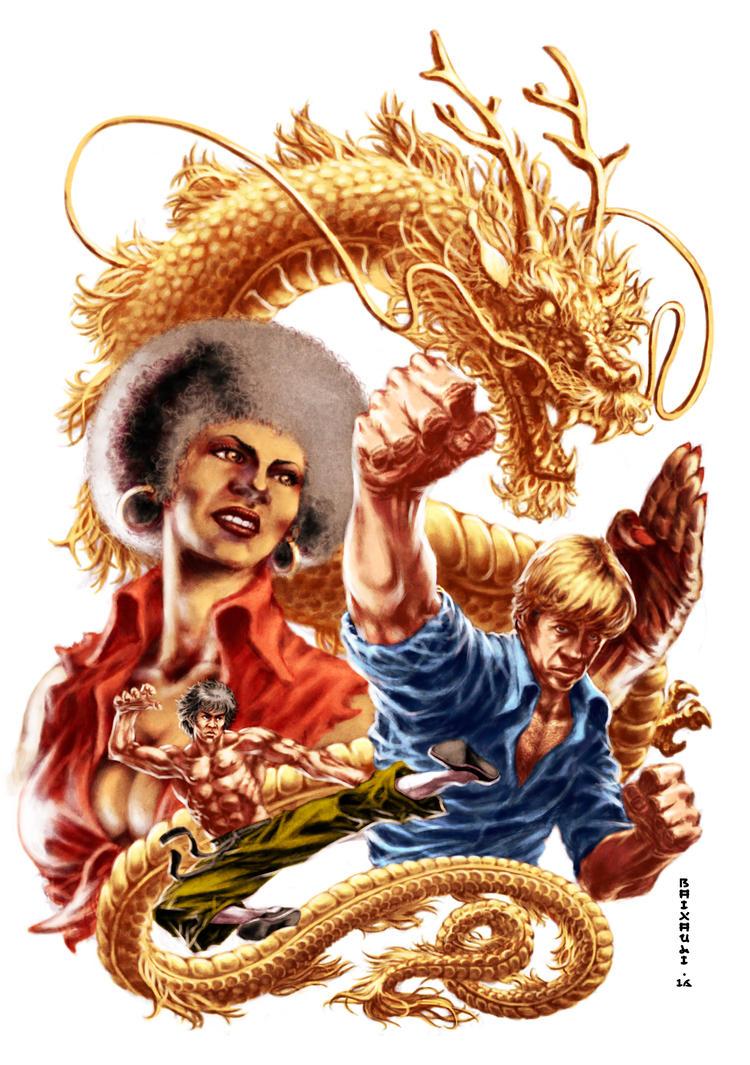 3 Dragones de Oro: El Templo Celestial by BAI-XAU-LI