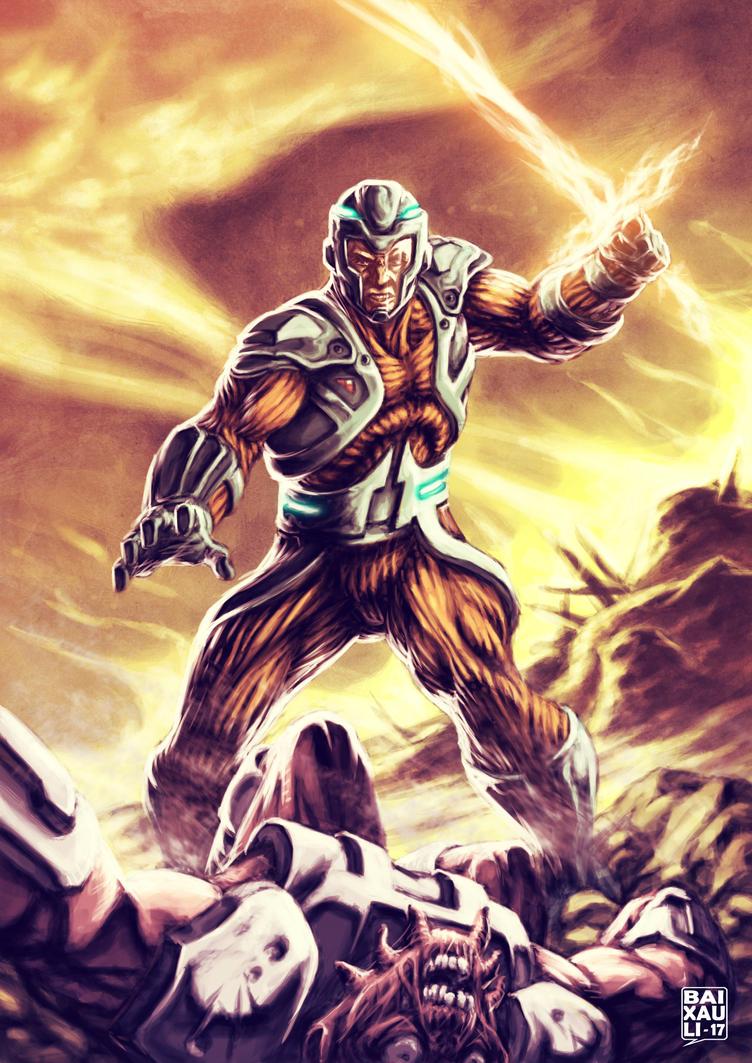 X-O Manowar by BAI-XAU-LI