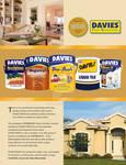 Davies Paints Print Ad