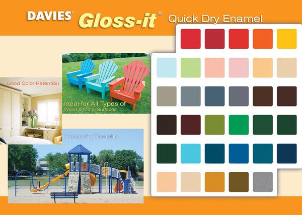 Gloss it Color chart Inside