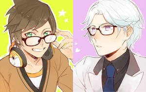 Glasses by SenlitheringMe