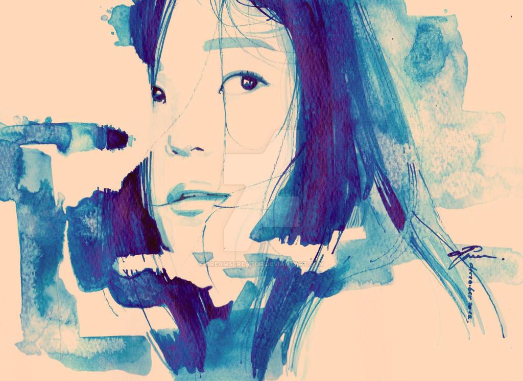 Blue glass by dreamsCrEaToR