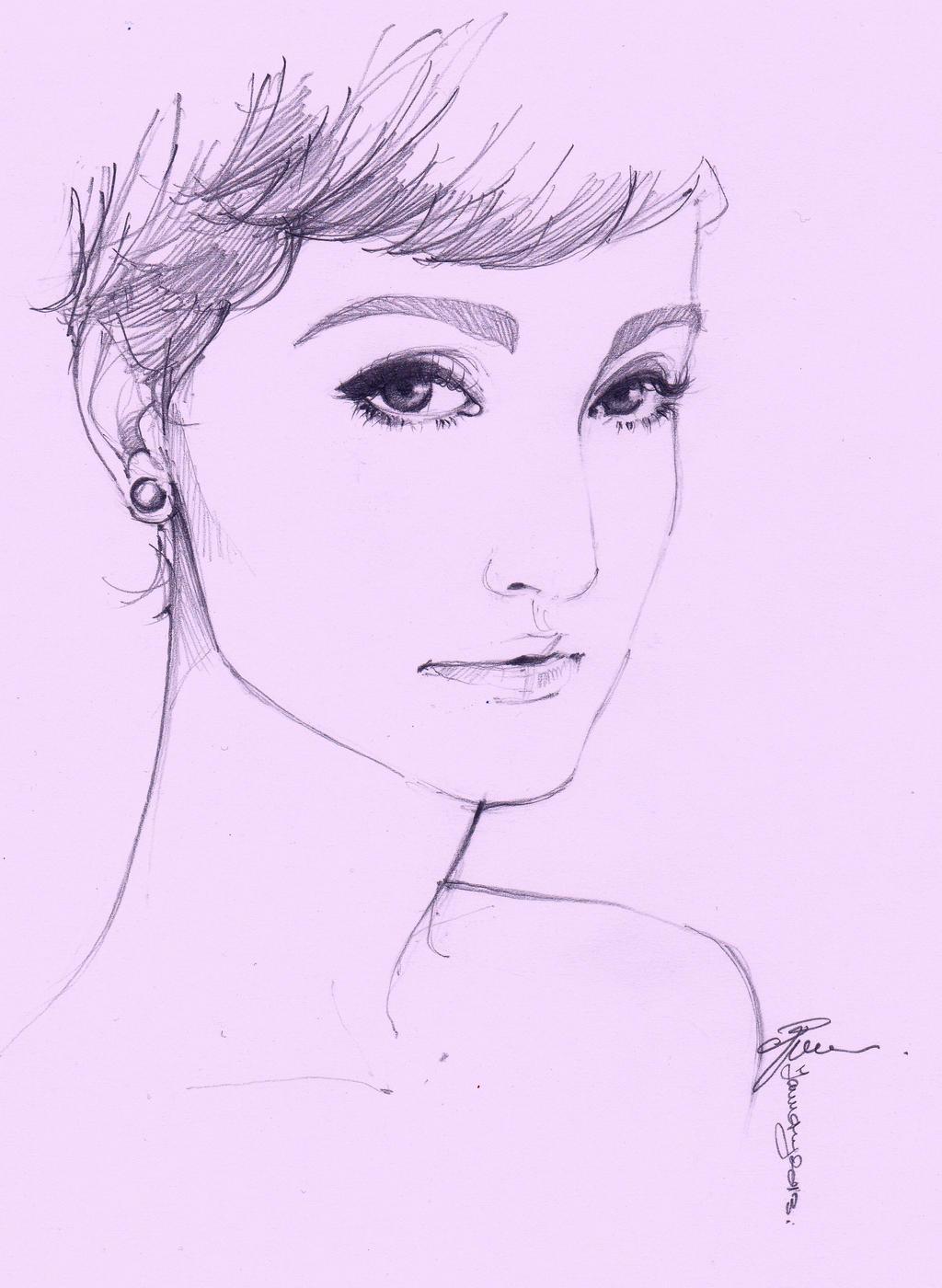 Iuly sketch by dreamsCrEaToR
