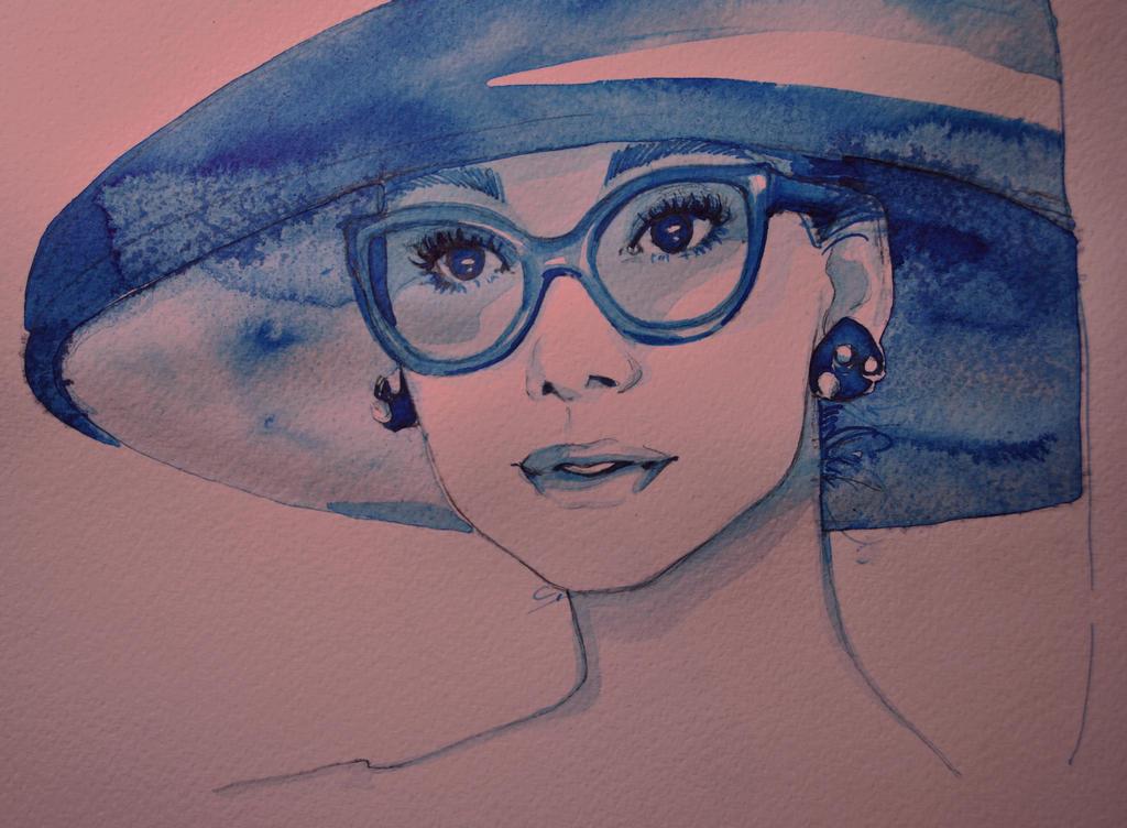 doodle blue ink by dreamsCrEaToR