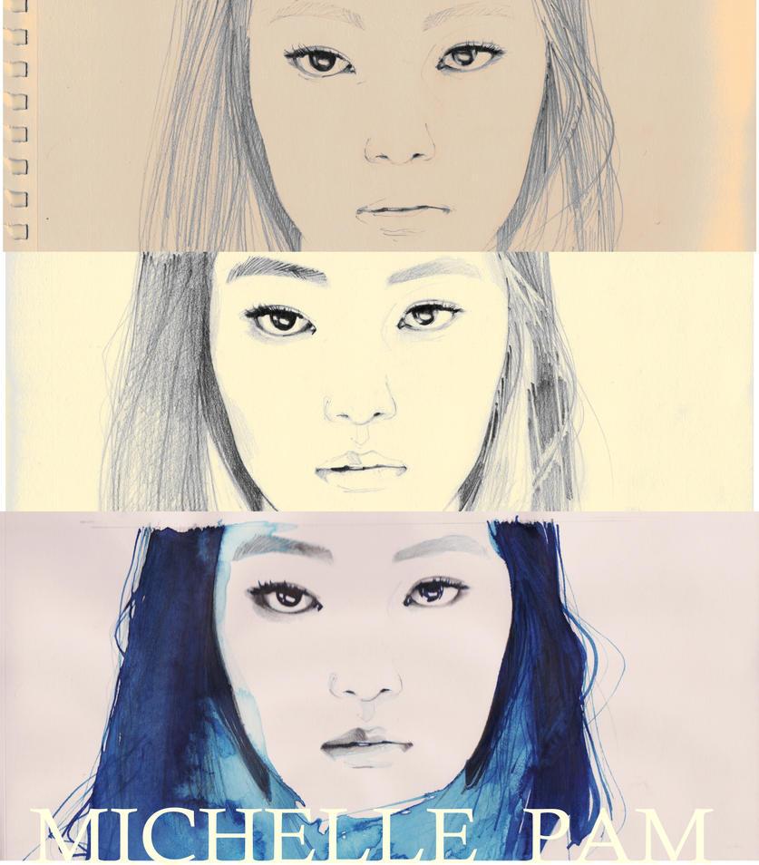 BLUE-pencil sketch by dreamsCrEaToR