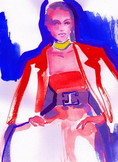 Balmain Illustration by dreamsCrEaToR
