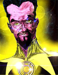 Sinestro by StevenVnDoom