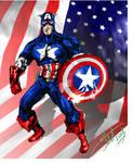 Steve Rogers, Captain America by StevenVnDoom