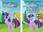 Twilight Sparkle Birthday Card by cheezedoodle96