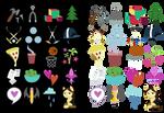 Cutie Mark Collection: Princess Spike