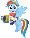 Rainbow Dash - Snowdash