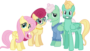 The Shy Family by cheezedoodle96