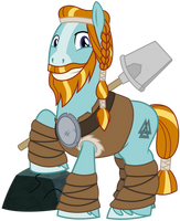 Rockhoof - Pillar of Strength by cheezedoodle96