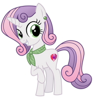 Teen Sweetie Belle by cheezedoodle96