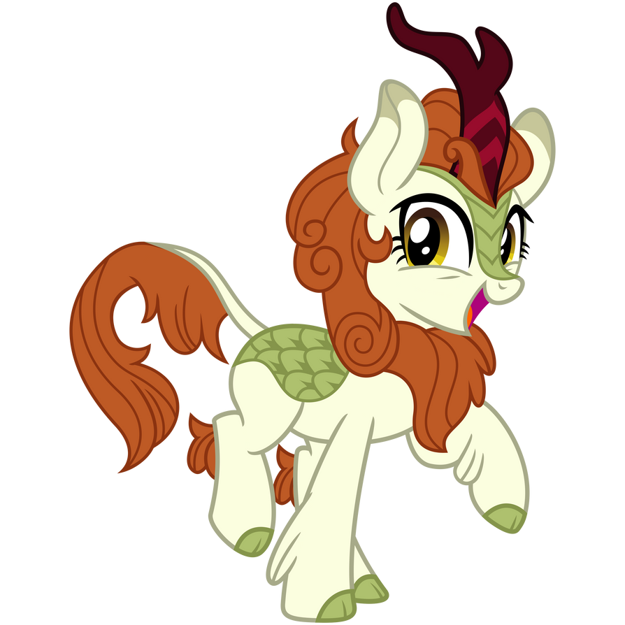 Autumn Blaze, Squee Pose by cheezedoodle96