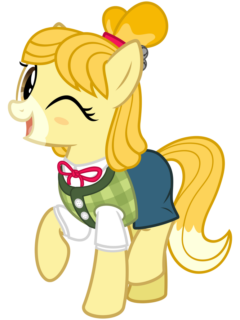 Ponified Isabelle by cheezedoodle96