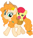 Pear Butter and Apple Bloom