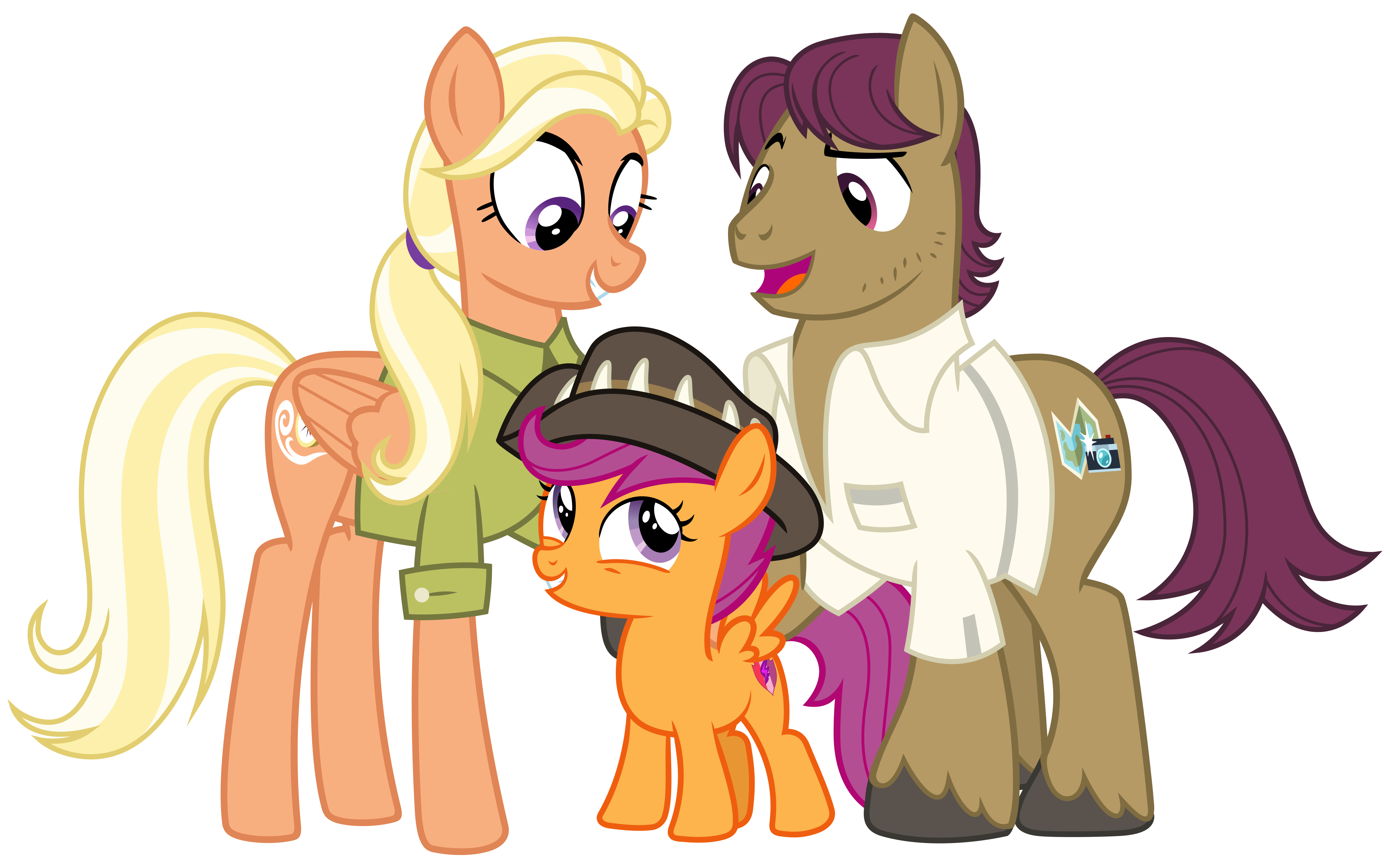 Scootaloo S Family By Cheezedoodle96 On Deviantart After the events of parental glideance, rainbow's family surprises scootaloo with adoption papers. family by cheezedoodle96 on deviantart